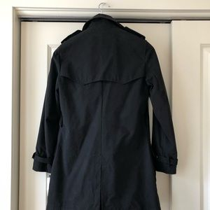 Ralph Lauren Jackets & Coats - Ralph Lauren Black Trench coat Raincoat Peacoat